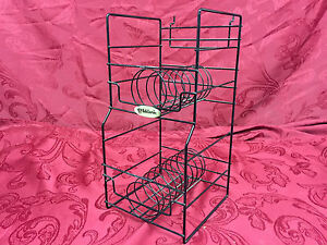 Lot Of 4 Music Store Retail Bass Guitar String Display Wire Racks Slatwall