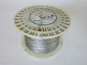 22 Awg Tin plated Copper Cable 4 33 Lbs Grounding Braid Stap 7 Strand Concentric