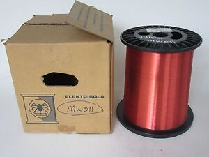 36 Awg 24 Lbs Elektrisola Pn155 Single Enamel Coated Copper Magnet Wire
