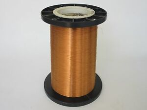 28 Awg 30 Lbs Ppe Invemid 200 Heavy Enamel Coated Copper Magnet Wire
