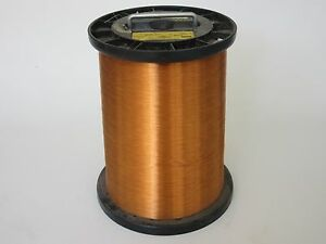 31 Awg 48 Lbs Ppe Invemid 200 Single Enamel Coated Copper Magnet Wire