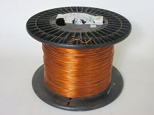 13 Awg 32 Lbs Essex Formvar Heavy Enamel Coated Copper Magnet Wire