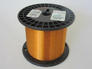 40 Awg 2 95 Lbs Essex Thermalex Heavy Enamel Coated Copper Magnet Wire