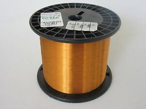 40 Awg 3 55 Lbs Essex Thermalex Heavy Enamel Coated Copper Magnet Wire
