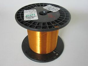 40 Awg 9 6 Oz Essex Thermalex Heavy Enamel Coated Copper Magnet Wire