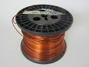 15 Awg 8 Lbs Essex Heavy Enamel Coated Copper Magnet Wire