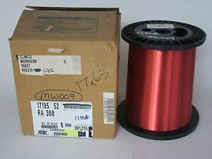 36 Awg 17 Lbs Elektrisola Pn155 Single Enamel Coated Copper Magnet Wire