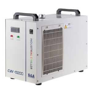 S a Cw 5200 Industry Water Chiller 110v 60hz For Laser Cutting 2 Years Warranty