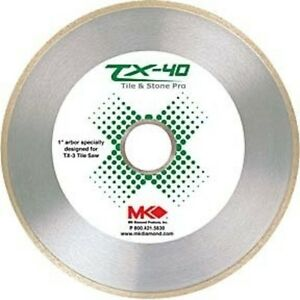 Wet Cutting Continuous Rim Tx 40 Tile Blade