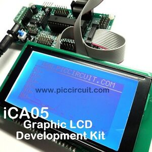 Ica05 Graphic Lcd Development Kit microchip 28pin Io Kit With Free Source Code