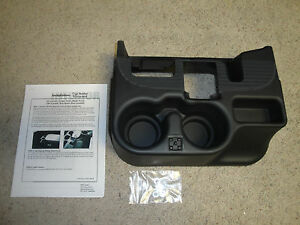 New 2003 12 Dodge Ram Center Console Cupholder Black Add on 1500 2500 3500