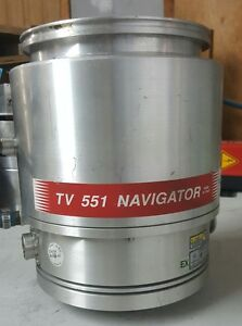 Agilent Varian Turbo Vacuum Pump Tv551 Navigator