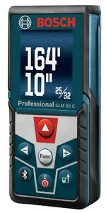 Bosch Laser Distance Measurer 165 ft Accuracy Of 1 16 in Free Bosch Apps