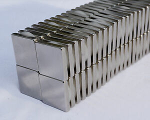75 Square Magnets 3 4 X 3 4 X 1 8 Strongest N52 Neodymium Us Seller