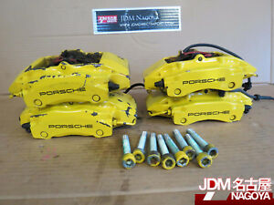 2003 Porsche Boxster 986 Oem Front Rear Brembo Brake Calipers 996 351 421 422
