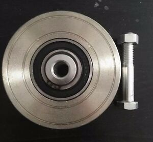 4 Steel V Groove Wheel set Of 2