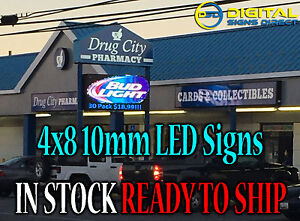 4 x8 Outdoor Digital Programmable Led Sign 3 Yr Warranty Control From Anywhere