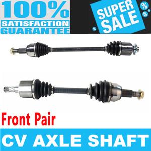 2x Front Cv Drive Axle Shaft For Saturn Vue 02 03 L4 2 2l Automatic Transmission