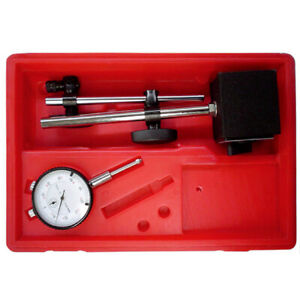 0 1 Inch Dial Indicator Magnetic Base Precision Inspection Set