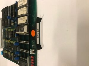 Engel Injection Molding Cpu 82 Card Cc80