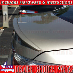 2013 2017 Honda Accord 4dr Factory Style Lip Spoiler Wing Trunk Lip Primer