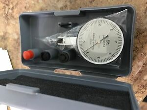 Brown And Sharpe 599 7023 6 Dial Test Indicator Set Top Mounted M1 4x0 3 Thread