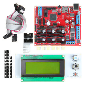2017 New Megatronics V2 0 Atmega2560 16au Control Board Lcd2004 For 3d Printer