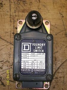 Square D Foundry Limit Switch 9007 Ftsb1