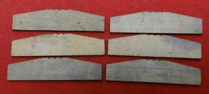 Blade Rotor Vanes Lot Of 6 For Air Tools 1 5 Long 3 8 Tall 1 16 Thick