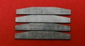 Blade Rotor Vanes Lot Of 4 For Air Tools 1 5 Long 7 32 Tall 1mm Thick