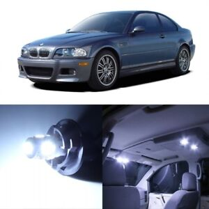 16 X White Led Interior Light Package For 1999 2005 Bmw 3 Series M3 E46 Tool