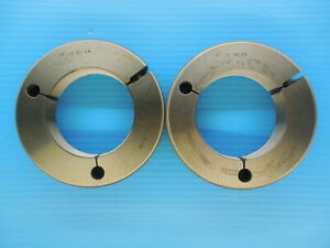 3 12 N 2 Thread Ring Gage 3 00 No Go Only P d 2 9385 Precision Tooling Tools