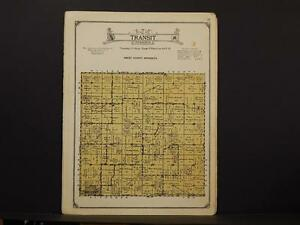 Minnesota Sibley County Map Transit Township 1926 Y7 54