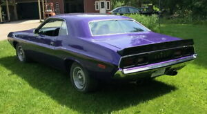 1970 74 Dodge Challenger T a Showcars Reproduction Rear Spoiler