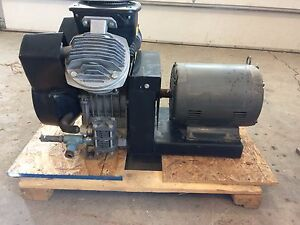 Nice Atlas Copco Le 40 10 Cv Ul Air Compressor Baldor 3ph 1760rpm Electric Motor
