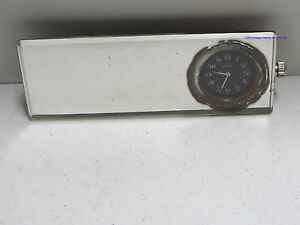 Vintage Car Truck Rearview Mirror Clock Model A T Ford Working