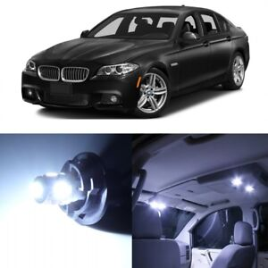 17 X White Led Interior Light Package For 2011 2016 Bmw 5 Series M5 F10 Tool