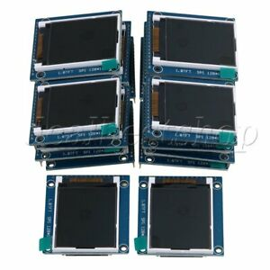 20piece 128x160 Pixels Lcd Module Display 1 8 Serial 262k Screen Pcb Adapter