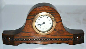 Vintage Napoleon Hat Mantel Clock For Parts Or Restoration Pl3073