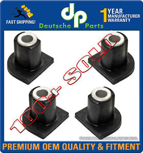 Mercedes W163 Ml320 Ml500 Steering Rack Pinion Mount Bushing 1634630066 Set 4
