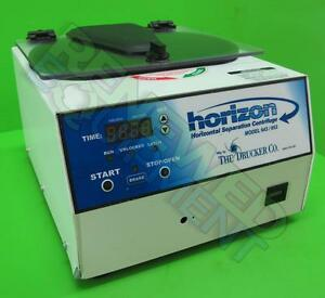Drucker 643 653 Horizon Horizontal Separation Centrifuge 653es 2500 Rpm