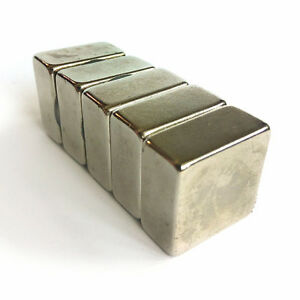 Neodymium Square Strong Magnets 20x20x10mm 0 8 0 8 0 4 5 10 25 50 100
