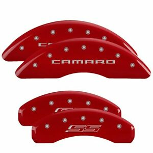 Mgp Set Of 4 Brake Caliper Covers Front Rear Driver 14241scs5rd