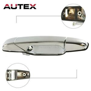 Chrome Outer Front Right Side Rh Door Handle For 2007 2013 Cadillac Escalade