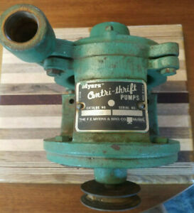 Myers Centri thrift 100d Pump And Motor 3 4 Hp Assembly