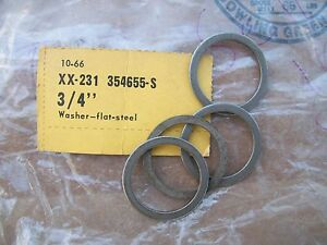 Nos Ford Needle Bearing Washers 3 Speed Overdrive Transmission