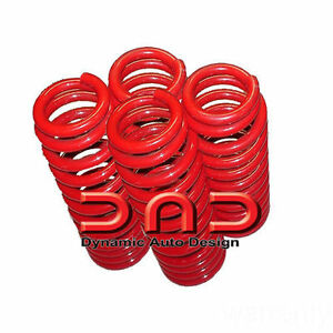 New Dropzone Lowering Springs 4 Mercedes Benz E Class W210 Chassis 96 02