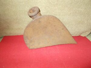 Vgt Cast Iron Farm Implement Plow Head Cultivater Part Garden Decor