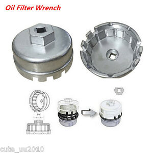 Oil Filter Wrench Cap Housing Tool Remover 15620 31060 3 8 Inch For Toyota Lexus