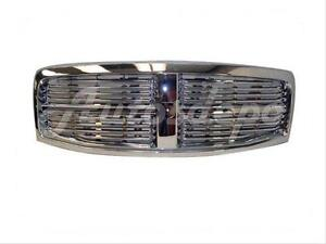 For 2004 2006 Dodge Durango Grille Assy All Plastic Chrome New Grill